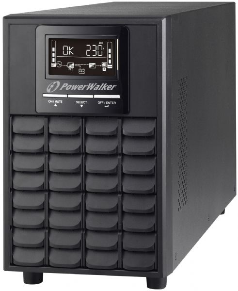 PowerWalker VFI 1000 CG PF1 LCD/IEC/UK UPS 1000W Tower